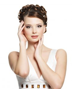 Frau nach Microneedling BeautyArt - Cosmetics & Spa Leipzig/Zentrum