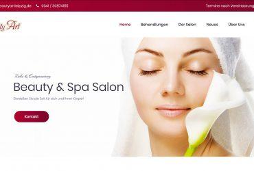 Neue Website Kosmetik Leipzig Zentrum